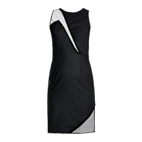Black Net And Velvet Dress
