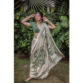 Kalpvruksha Embroidered Saree