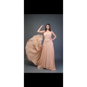 Dream Girl Powder Blush Gown