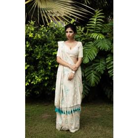Adhisthana Lakhanavi Saree